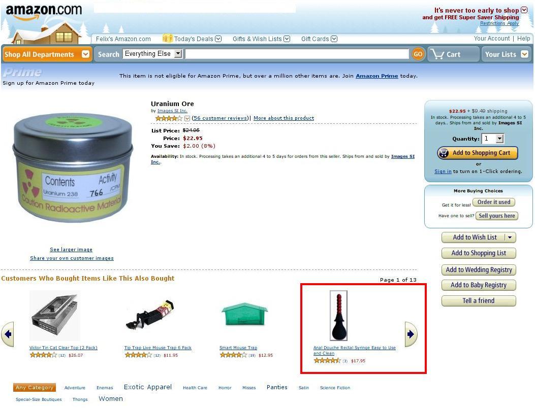 uran kaufen amazon